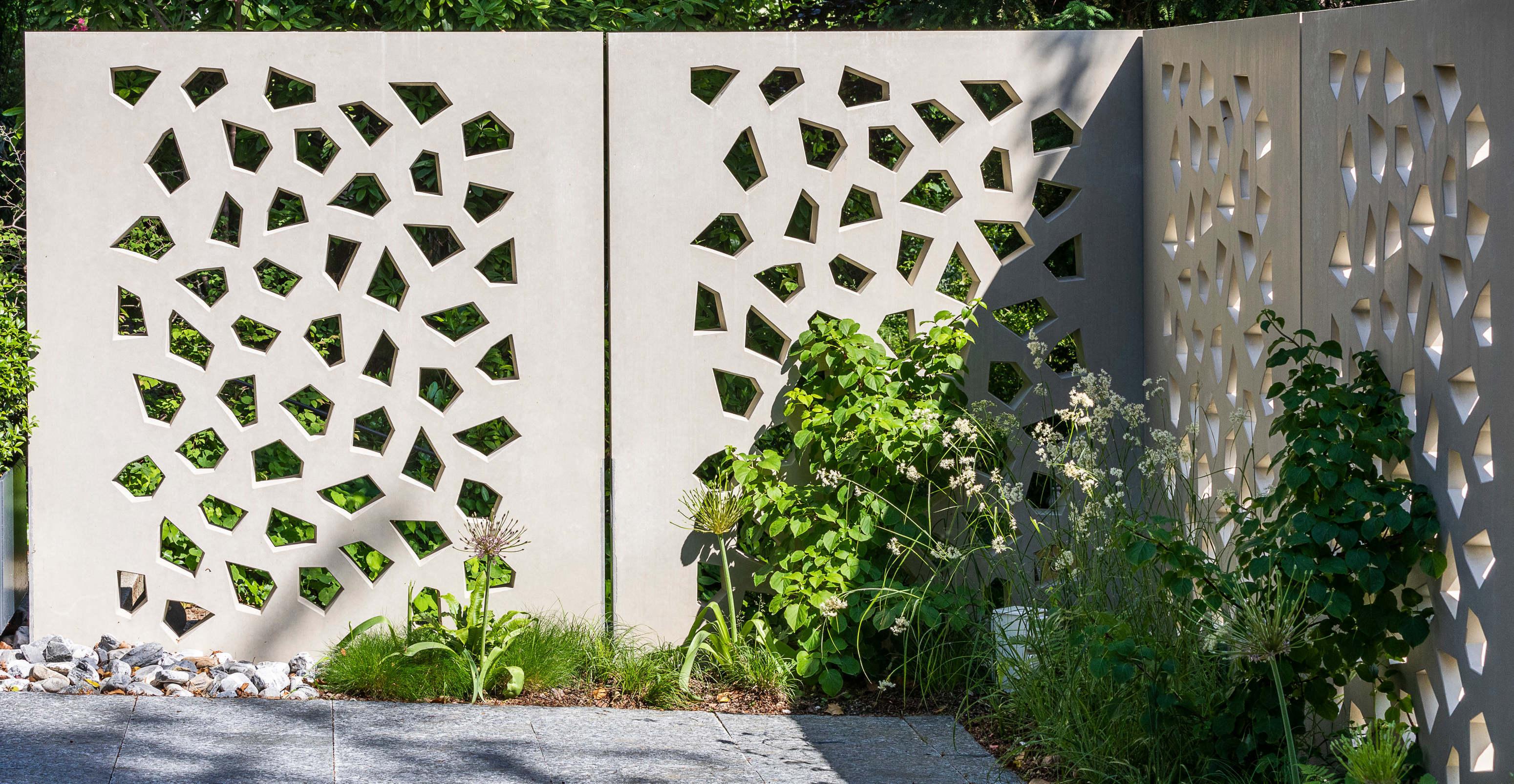 Mauern und Sichtschutz