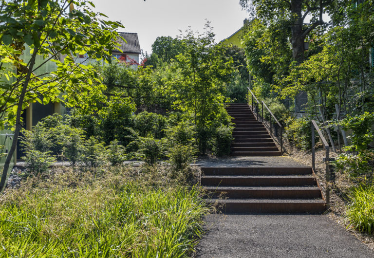 Stahlbandtreppe Winterthur