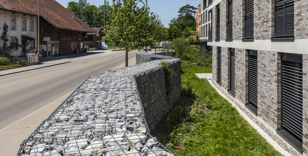 Steinkorbmauer Wiesendangen